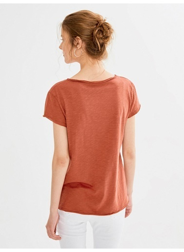 Xint Tişört Kiremit